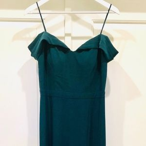 Green gown or bridesmaid dress